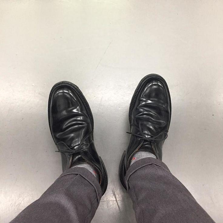 久しぶりに渋谷で飲みました #alden #オールデン #足もと倶楽部 #leathershoes #horween #shellcordovan #fashion #kicks #todayskicks #Tokyo #KOTD #aldenarmy #YOLO #tagsforlike #tflers #instagood #instadiary #instalike #instapic #instaphoto #madeinusa #leathergoods #shoestagram #instashoes #shoeporn