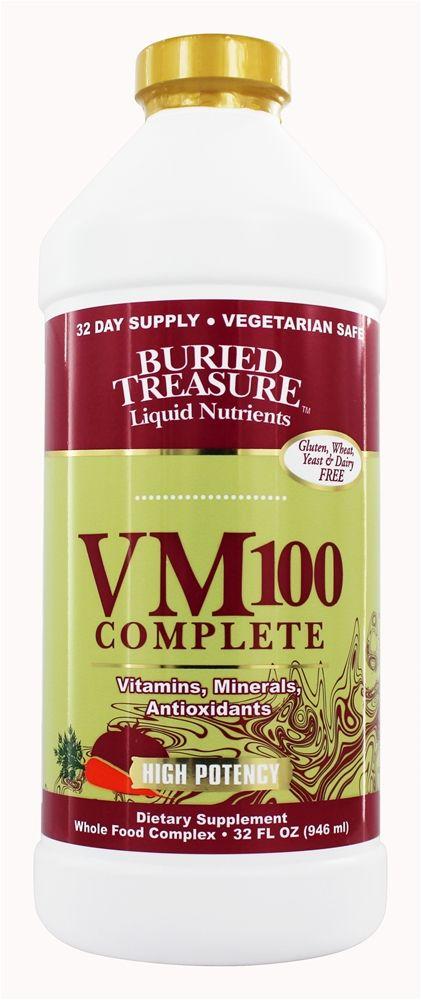 Buried Treasure Products - VM-100 Complete Liquid Vitamin - 32 oz.