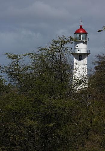 Diamond Head Light - Honolulu, HI. Taken in 2010