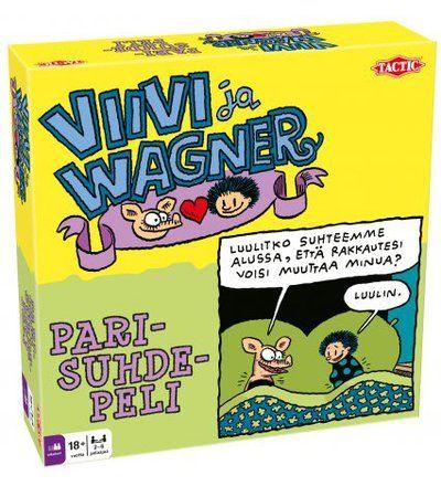 Tactic Viivi Ja Wagner Parisuhdepeli 24,90 e
