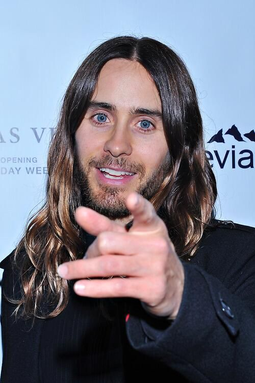 Jared Leto- for the future ex wife shout out and the women who have (really or imaginatively) copulated with you. Hat's off, darling.