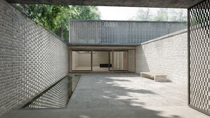 Krematorium Hörnli, Bernhard Maurer + Frederic Garrigues-Cortina   BETA