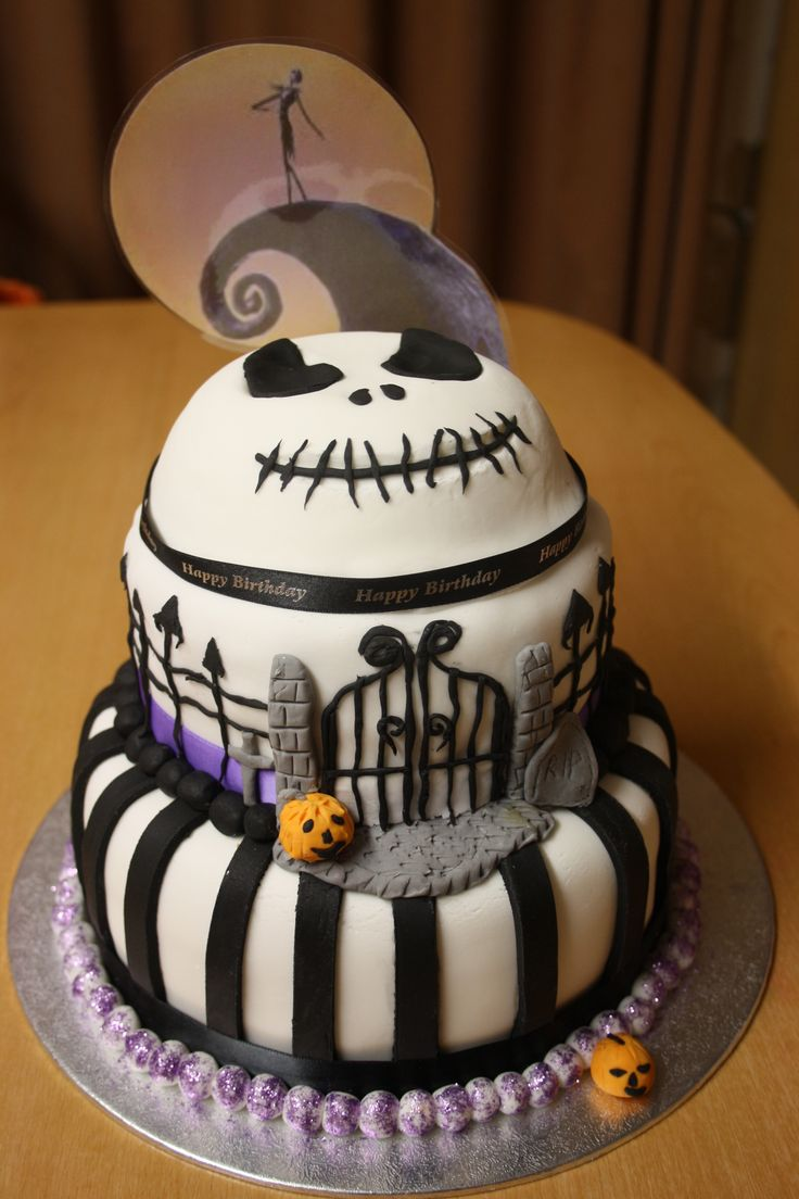 20 Best Jack Skellington Cake For Misty Images On Pinterest Conch