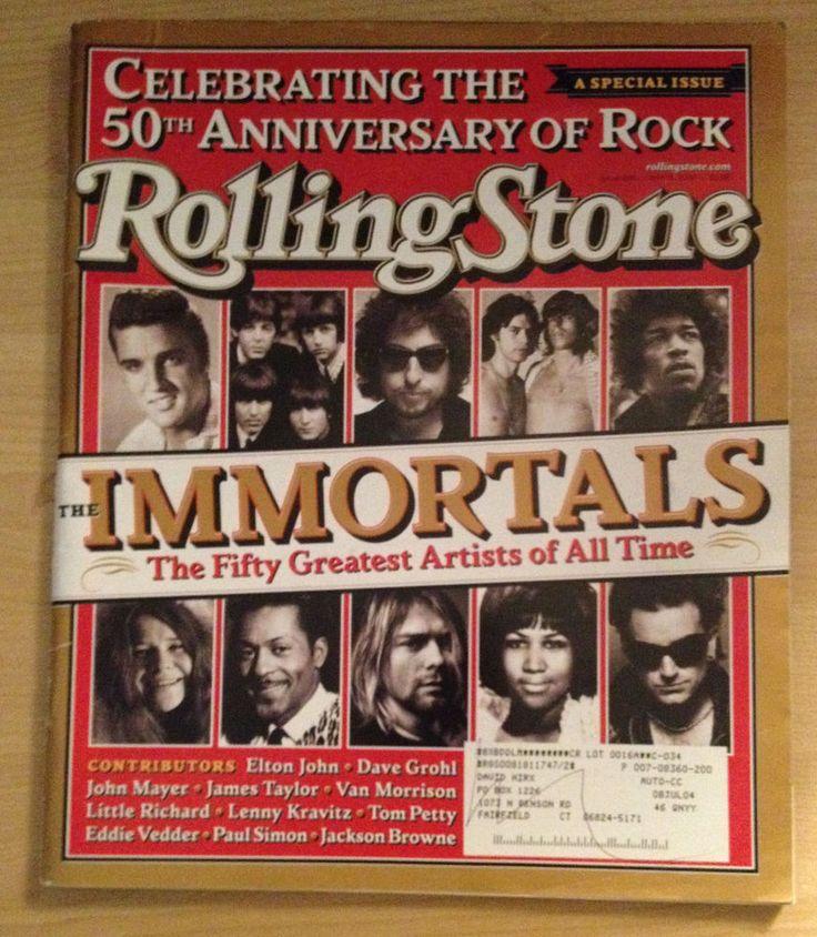 Prince ROLLING STONE Magazine April 15th 2004 Immortals 50