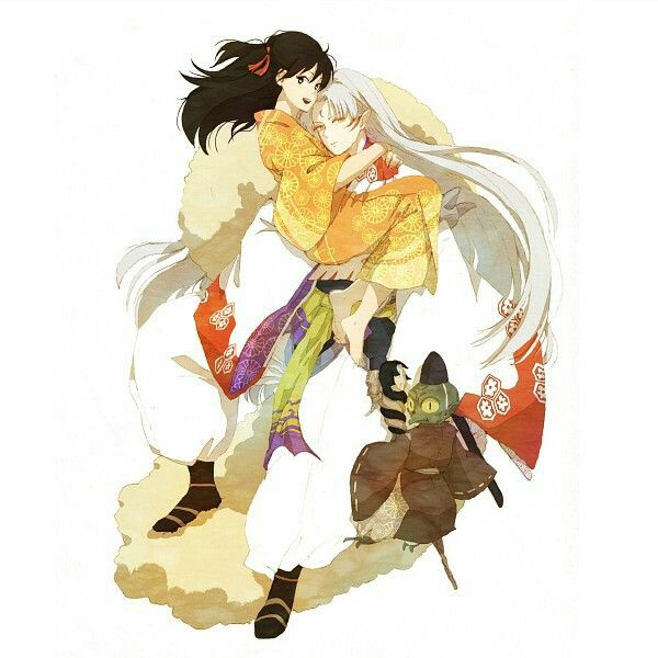 181 Best Images About Inuyasha Sesshomaru & Rin On