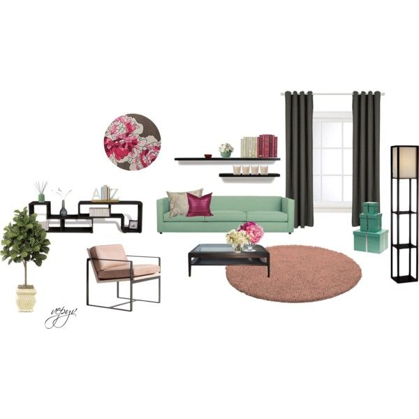 """Modern living room"" by viktoria-vepy on Polyvore"