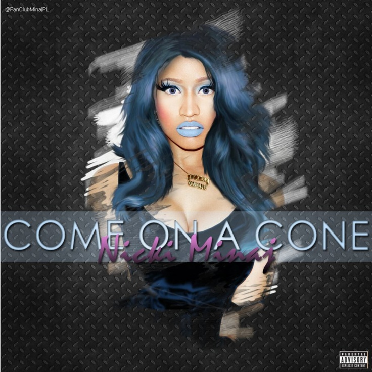 """Come On a Cone"" is a song recorded by American female rapper Nicki Minaj. The track produced by Hit-boy serves as a promotional single taken from her latest studio album ""Pink Friday: Roman Reloaded"" that was released on iTunes on April 3, 2012 via Young Money, Cash Money, Universal Republic. A viral music video for the song was released on October 22 as part of the promotion of the upcoming re-issue of the album entitled ""Pink Friday: Roman Reloaded – The Re-Up"" that'"