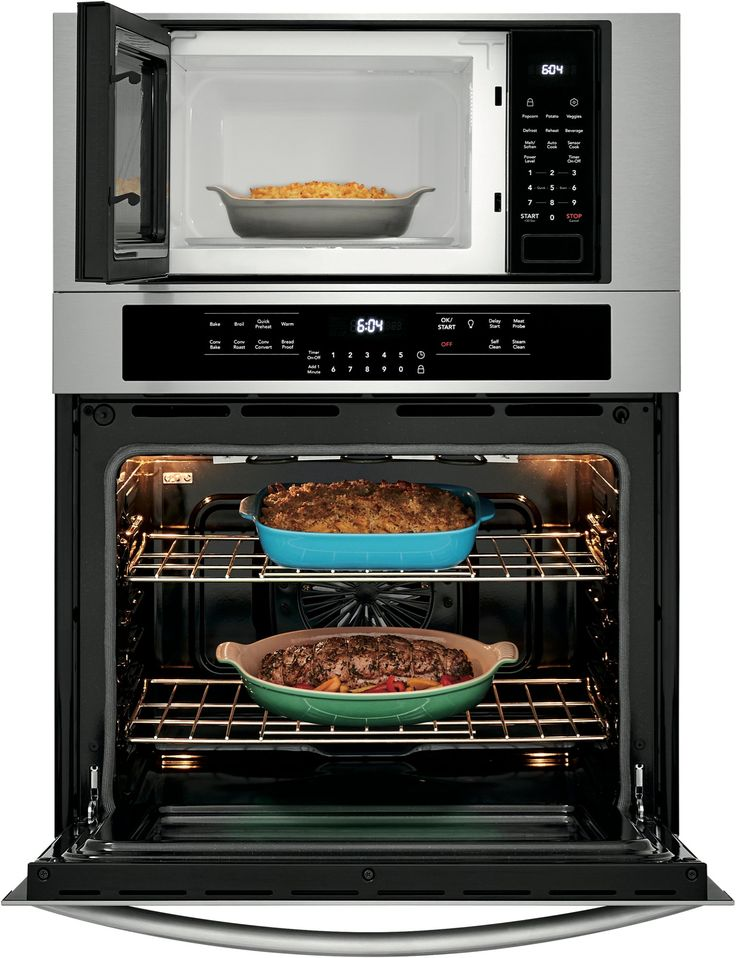 Frigidaire gallery 30 inch combination wall oven with