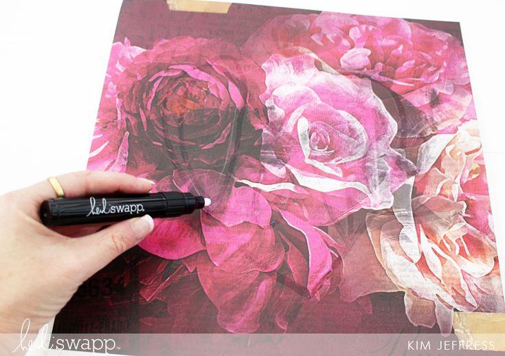 Heidi Swapp Hawthorne and Minc | Foil your own handwriting with the @heidiswapp Minc Pen