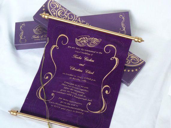 Best 25+ Masquerade wedding invitations ideas on Pinterest ...