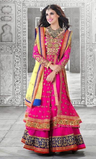 76 best images about Anarkali Salwar Kameez on Pinterest ...