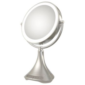 Ihome 7x Double Sided Vanity Mirror With Bluetooth Speaker Kohls Ihome Vanity Mirror Vanity