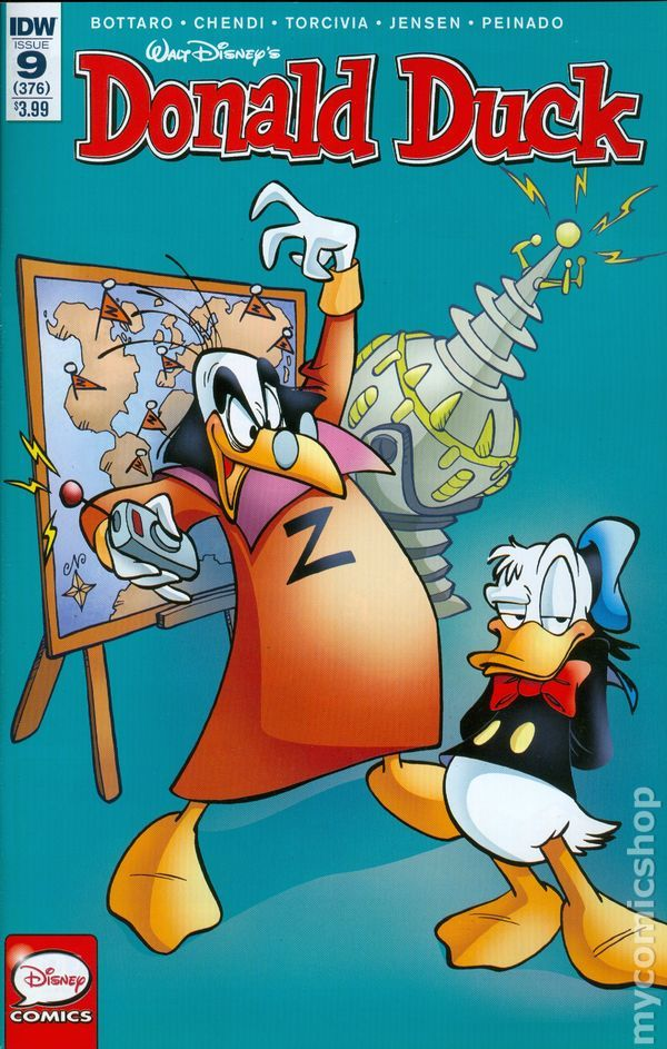 Donald Duck (2015 IDW) 9