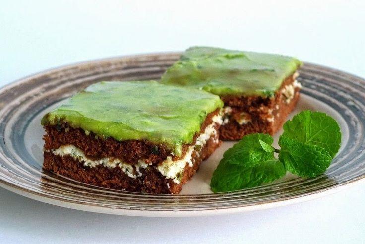 Лучшие рецепты.: Шоколадно-мятные брауни