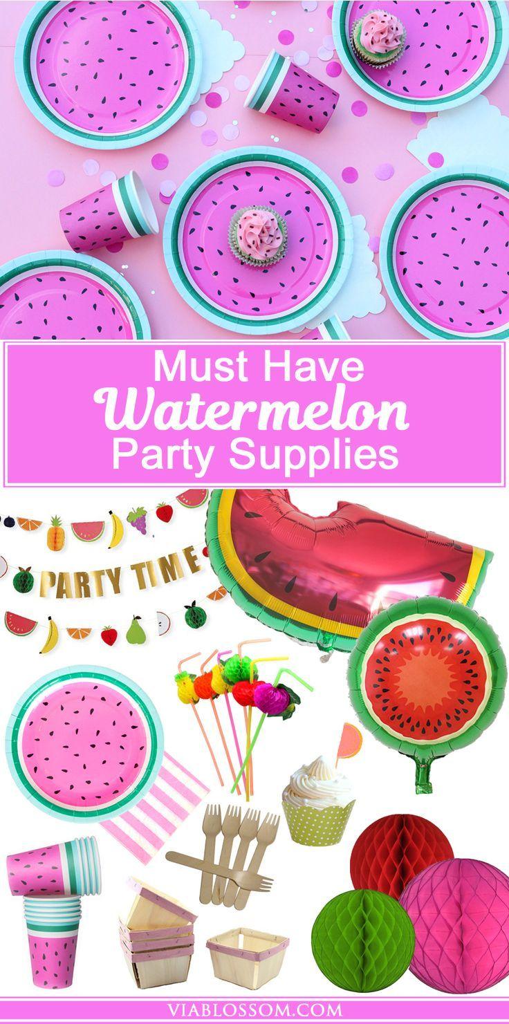 Must Have Watermelon Party Ideen Und Dekorationen Für Eine