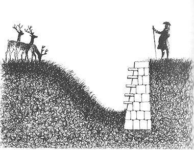 Ha-Ha-drawing by Felix Kelly