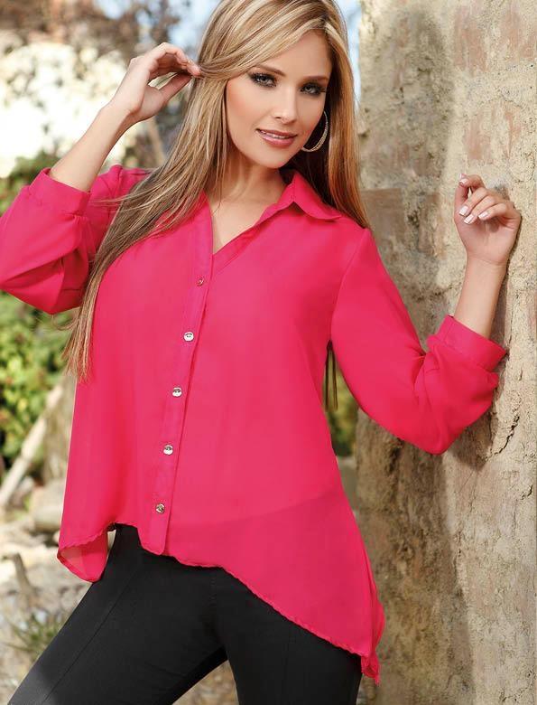 Dale un toque de color a la vida con esta camisa, con la cual estarás a la moda y elegante.