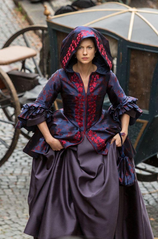 Je Squee Prest ®, Favorite Claire costume Outlander Season 2