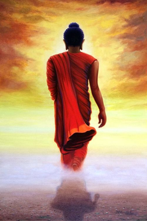 Buy 'Buddha - 12' a beautiful painting by Indian Artist Nitin Sonawale