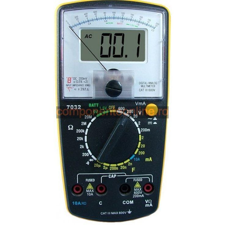 Aparat de masura analog, digital,multimetru analogic si digital - 110845