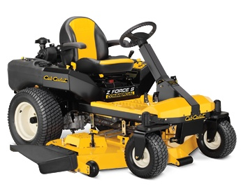 "Commercial Z Force S Zero Turn Mower with 4 wheel steering - available with 48"" or 60"" decks"