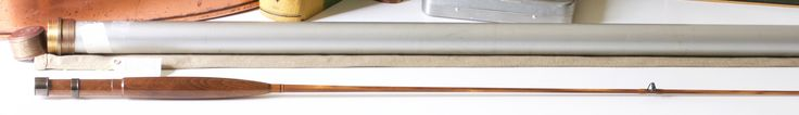 Kusse, Ron -- 5' 3-4wt One-Piece Bamboo Rod - Vintage Fly Tackle