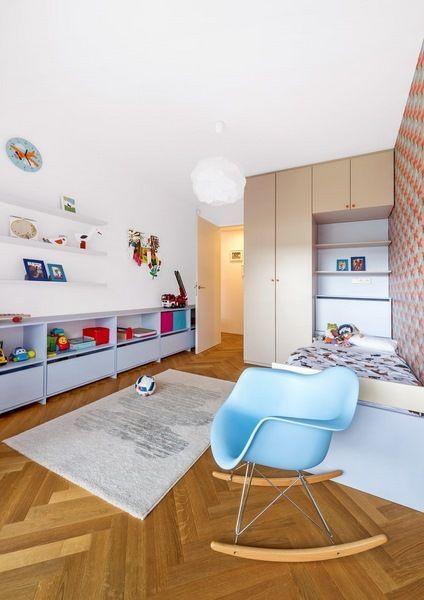 Moderní byt | Ze dvou pražských bytů jeden prostorný