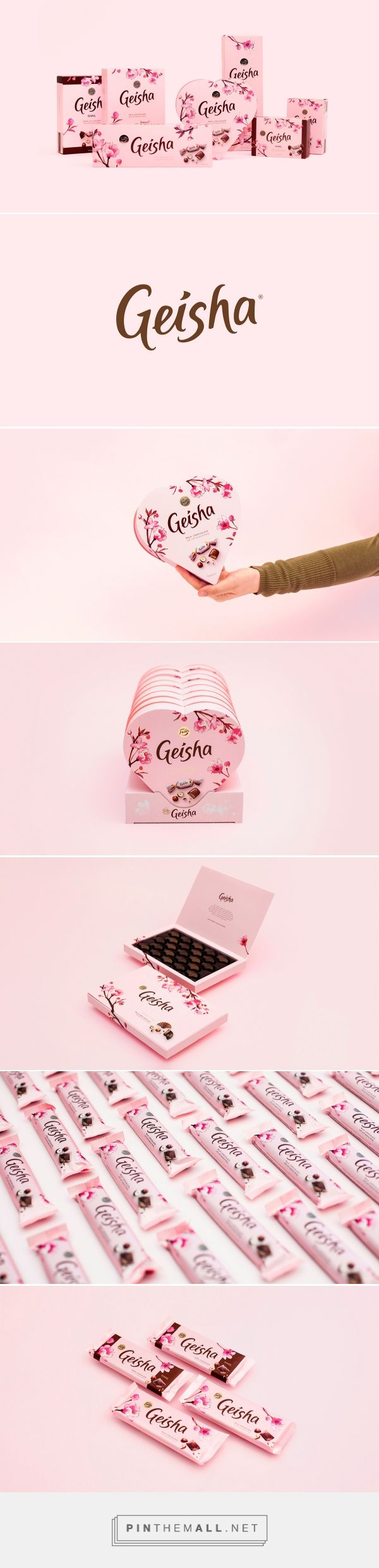 Fazer Geisha Chocolate Branding and Packaging by Pentagon Design | Fivestar Branding Agency – Design and Branding Agency & Inspiration Gallery