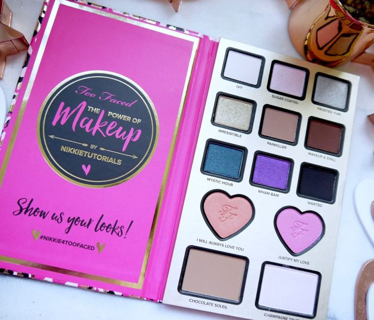 Morning Bunnies! Several months ago, Too Faced announced that they'd be collaborating with YouTube megastar NikkieTutorials (the girl who told us all to pinch our boyfriend's Nivea Post…