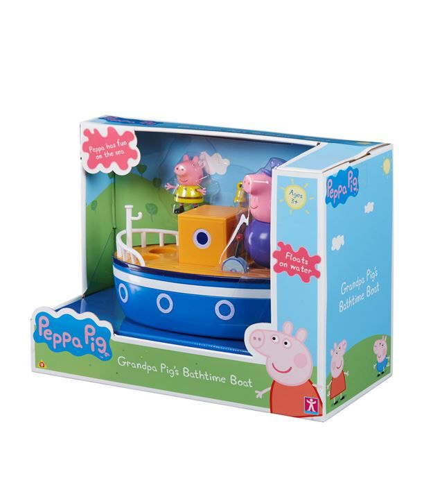 Peppa Pig Grandpa Pig's Bathtime Boat available to buy at Harrods.Shop toys online and earn Rewards points.