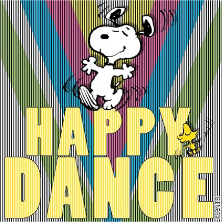 It's Friday! Time for a Snoopy Happy Dance!