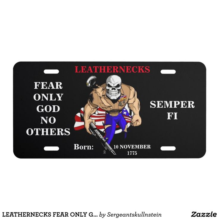 LEATHERNECKS FEAR ONLY GOD NO OTHERS