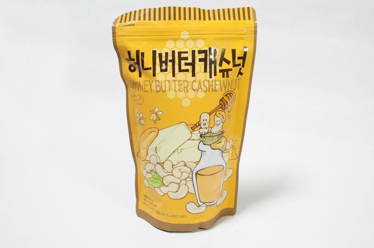 Once you eat unforgettable Honey Butter Flavor Cashew Nuts 250g ( 8.8oz ) #Toms