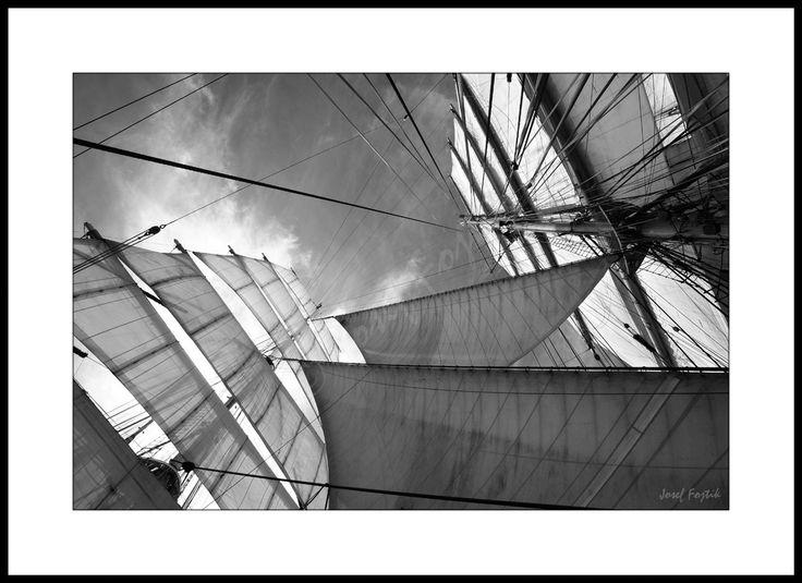 Fotoobraz - Plachetnice - čtyřstěžňový bark Sedov. Foto: Josef Fojtík - www.fotoobrazarna.cz - https://www.facebook.com/Fotoobrazarna.cz