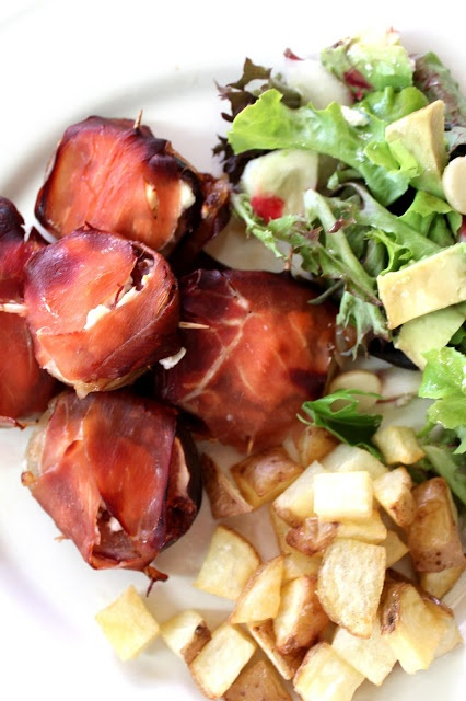 Roasted Figs with Prosciutto and Danish Feta