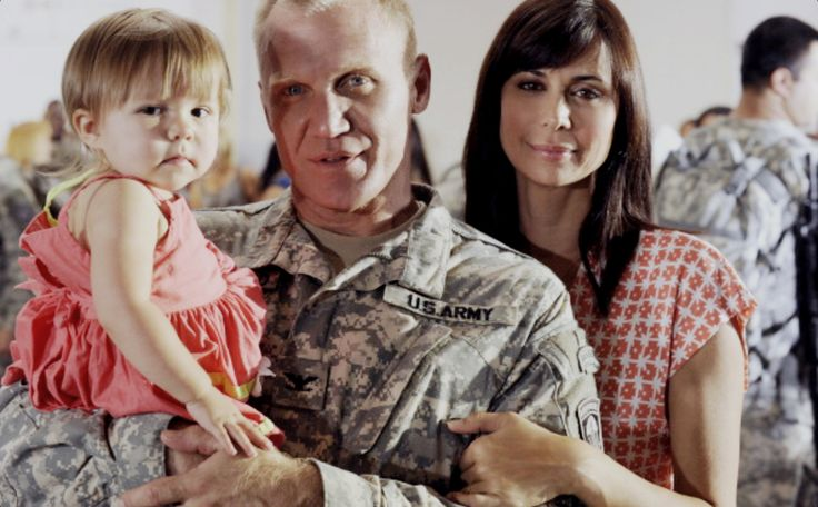 Army Wives- Denise Sherwood, Molly Sherwood, and Frank Sherwood