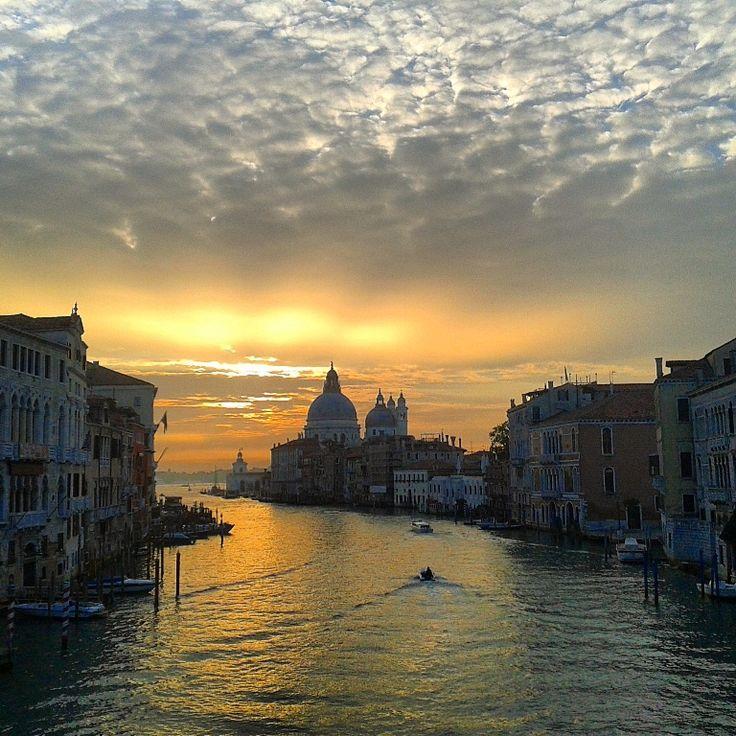 One of our beautiful venetian sunrise !