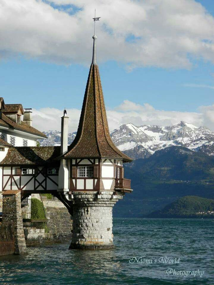 #switzerland #castle #mountains