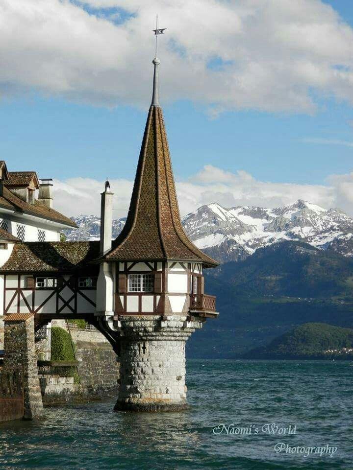 #switzerland #castle #mountains