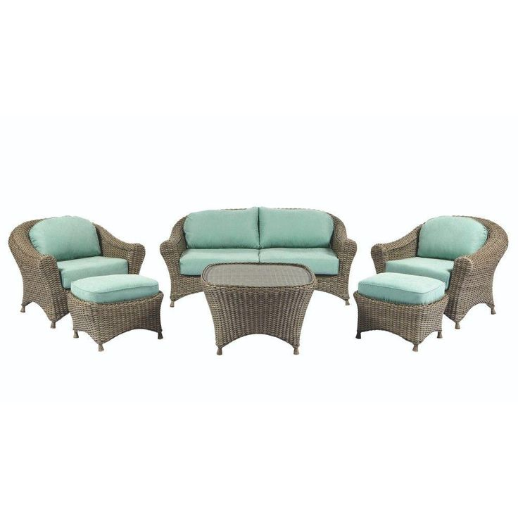 Martha Stewart Living Lake Adela Weathered Grey 6-Piece ... on Martha Stewart 6 Piece Patio Set id=48290