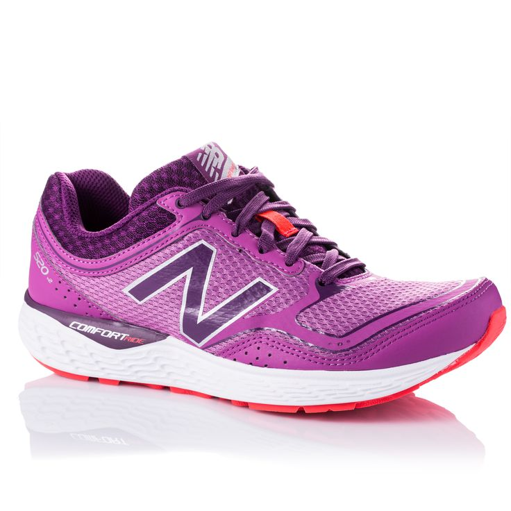 Train in style with these New Balance Women's 520v2 Running Shoes. These vivid purple running shoes showcase breathable mesh upper and a rubber outsole that provides traction.