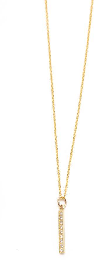 Jennifer Meyer Jewelry Diamond Pendant Necklace - $750.00