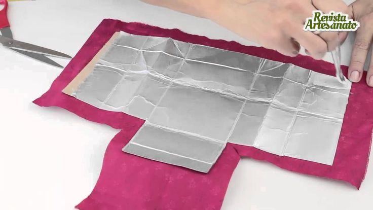 Milk carton wallet - Do it yourself un petit porte-monnaie avec emballage brick de lait et tissus