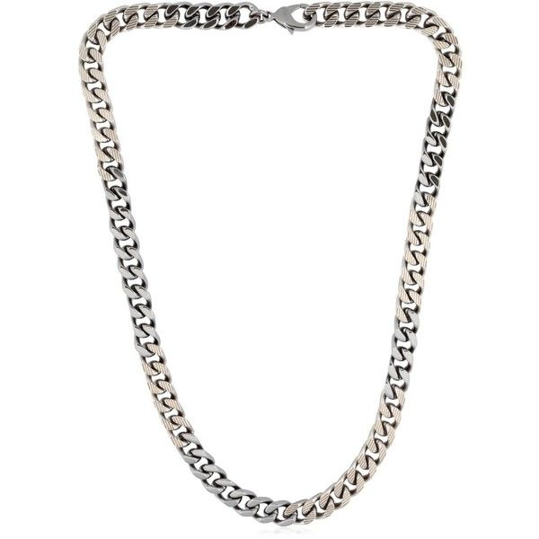 Vita Fede Men Franco Necklace (1,922 CAD) ❤ liked on Polyvore featuring men's fashion, men's jewelry, men's necklaces, mens necklaces, mens white gold necklace and mens watches jewelry