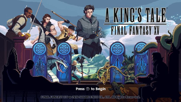 Quick Thoughts - Final Fantasy XV: A King's Tale - http://techraptor.net/content/quick-thoughts-final-fantasy-xv-kings-tale | Gaming, Previews, Videos