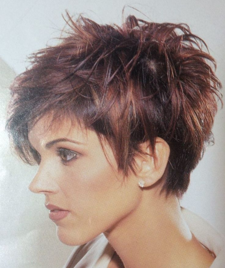 Pixie Haircuts for Thick Hair They say that stylists simply love to work with thick hair, because, firstly, thick hair is very pliable, and, secondly,..., Pixie Cuts