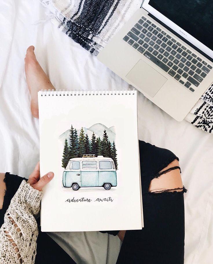 Hailey Kinsey auf Instagram Hailey Phillips.creative Adventure erwartet Drucke, Wate