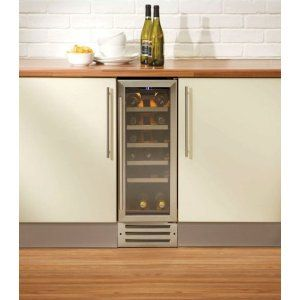 Wine Fridge - Love the simplicity and the symmetry. Also, we probably only need that small of a wine fridge anyway