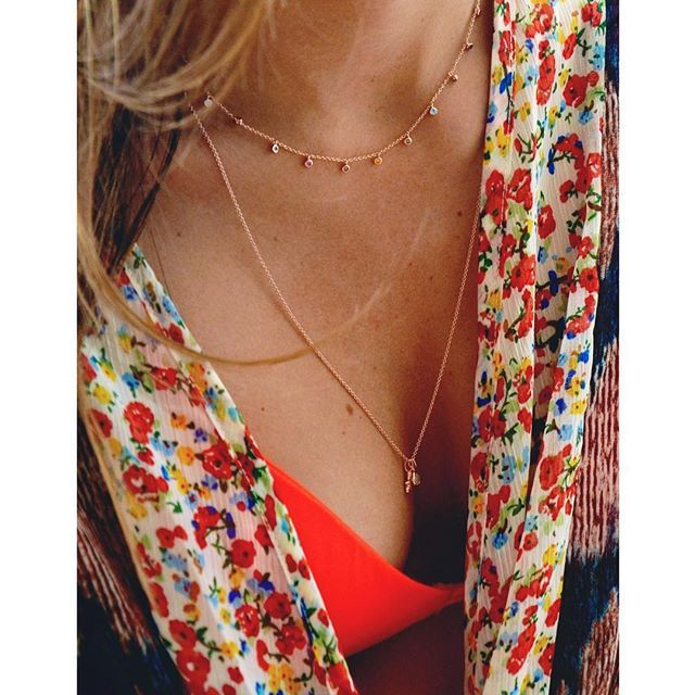 We are back online. Www.imaginjewels.com #imaginjewels #necklaces #layers #summer
