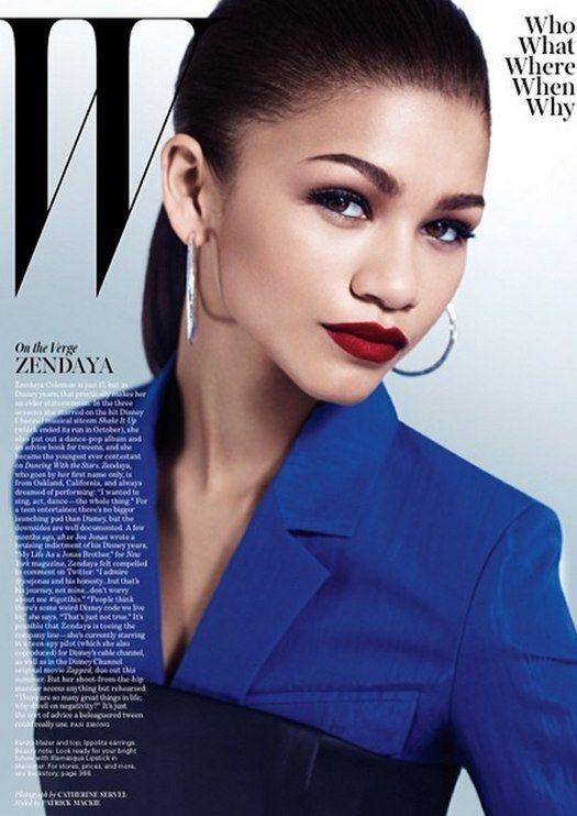 Zendaya Coleman's W Magazine style!